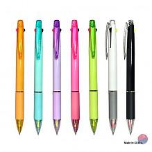 2색 형광+볼펜 불투명 (3in1)